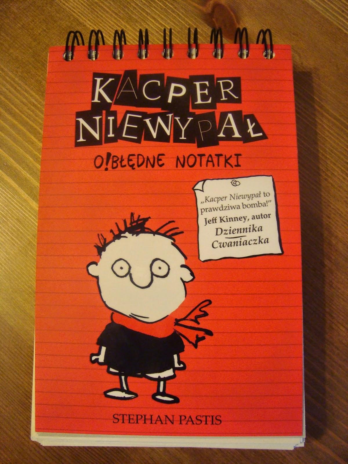 kacper niewypał, o!błędne notatki, recenzja, znak
