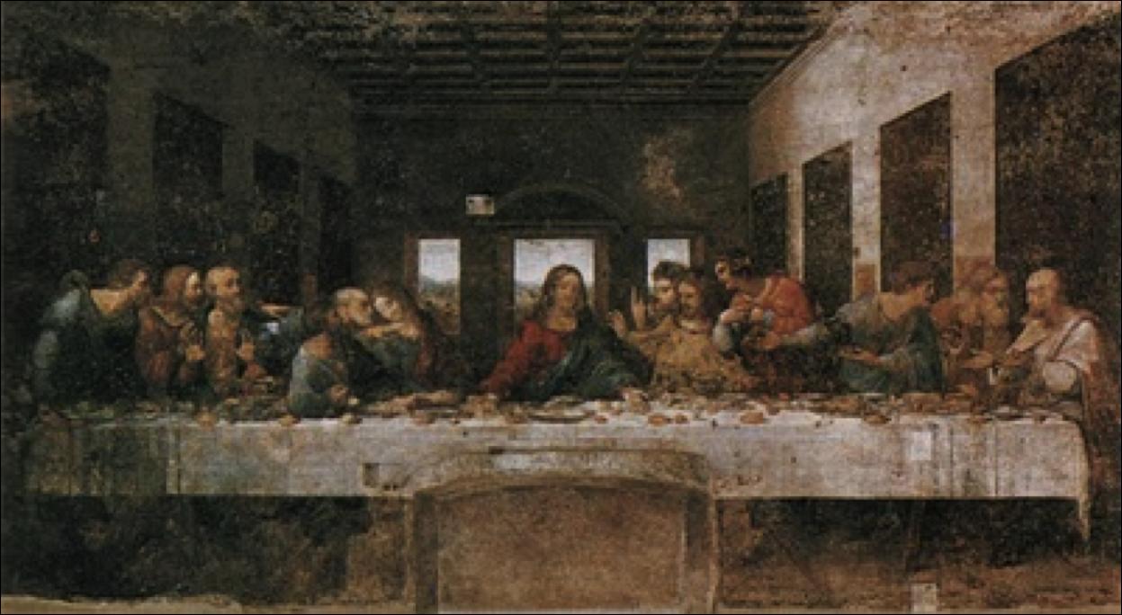 Frustrated Love: Leonardo Da Vinci: The Last Supper Da Vinci Paintings Mirrored