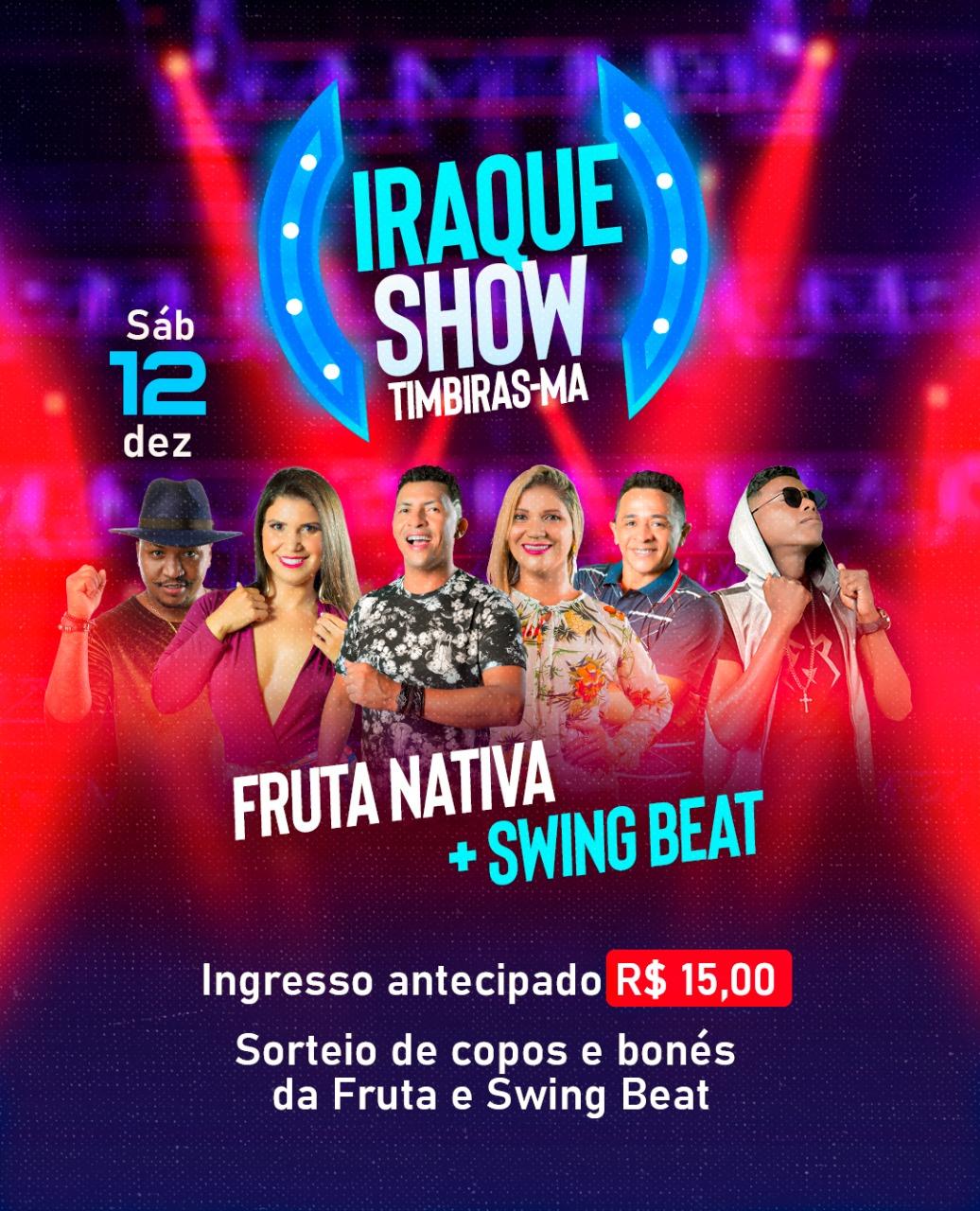 FRUTA NATIVA E SWING BEAT DIA 12 /12