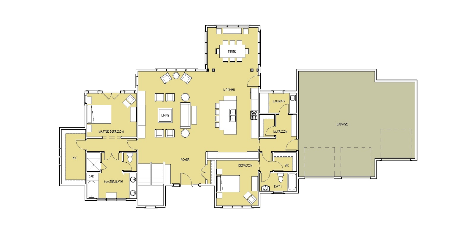 Simply Elegant Home Designs Blog January 2013: master bedroom main floor house plans