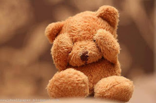 Sad Teddy Bear Wallpaper