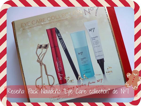 """Reseña: Pack Navideño """"Eye care collection"""" de No7"""