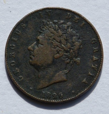 George IV coin
