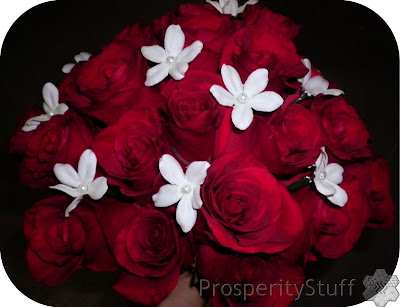 Wedding Bouquet - Red roses