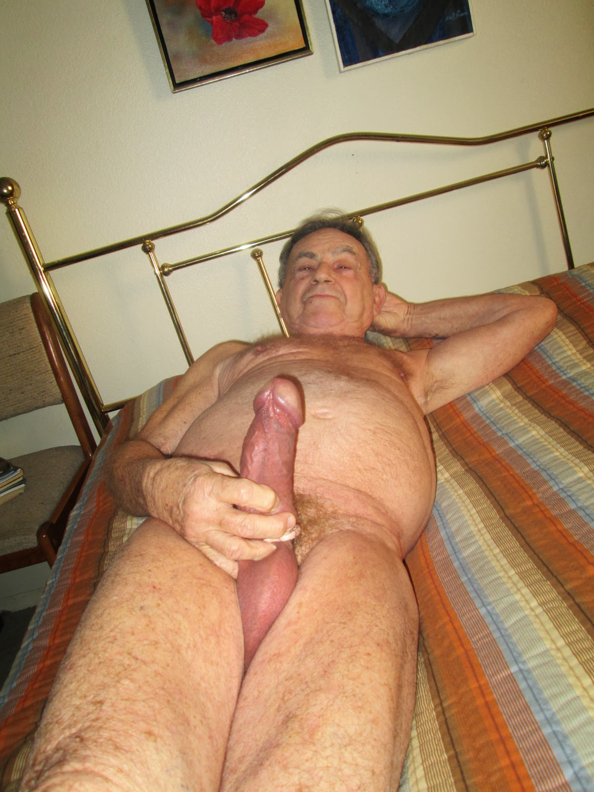 Love the horny grandpa cock did die?
