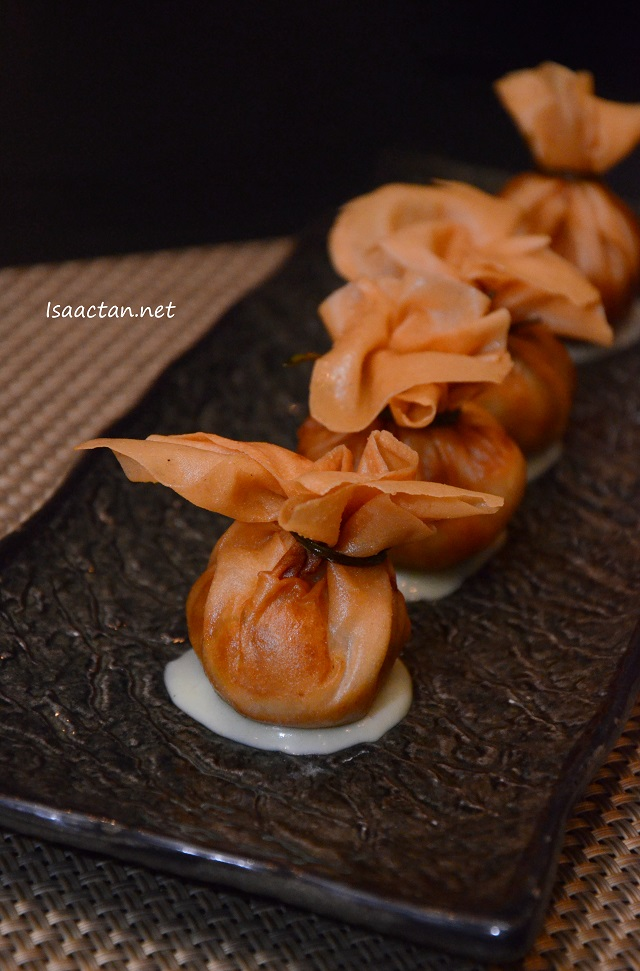 Crispy Dumpling with Wasabi Mayo - RM 15 for 4 pcs