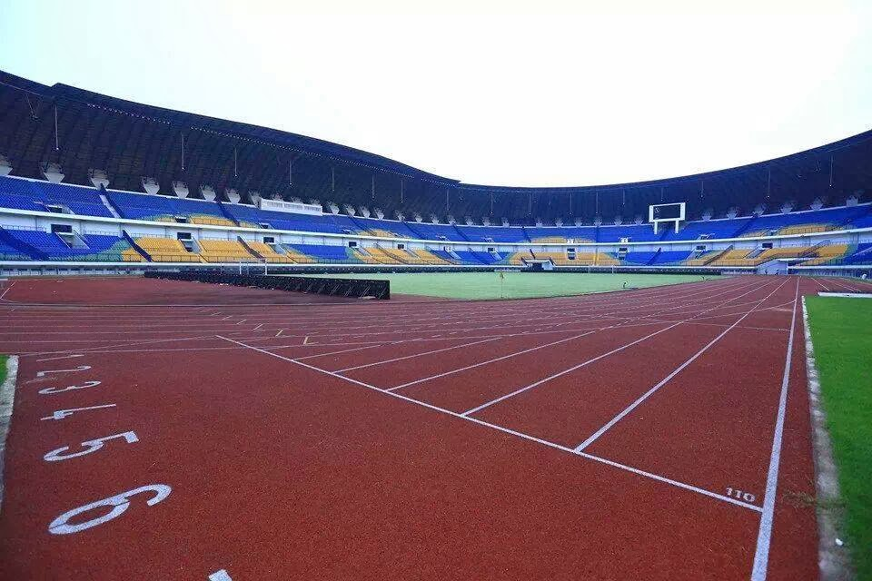 lintasan atletic stadion GBLA