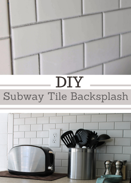 how to install subway backsplash