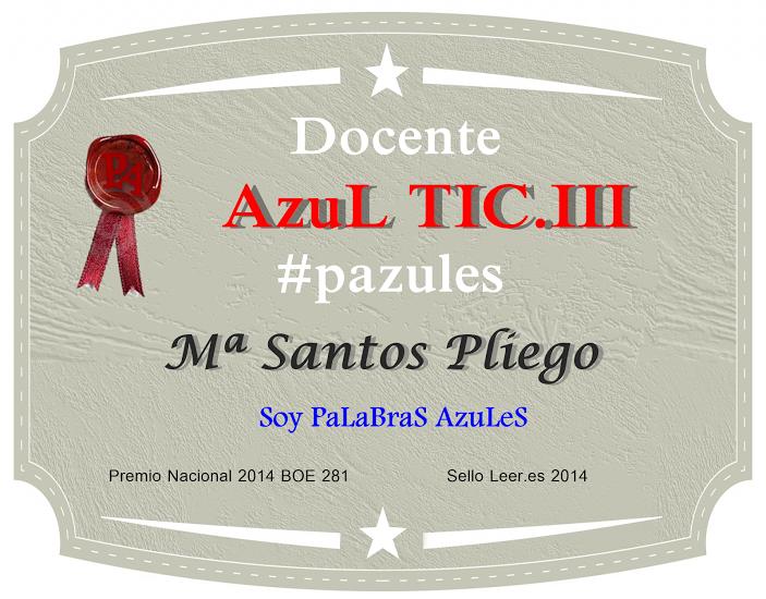 DOCENTE AZUL TIC.III