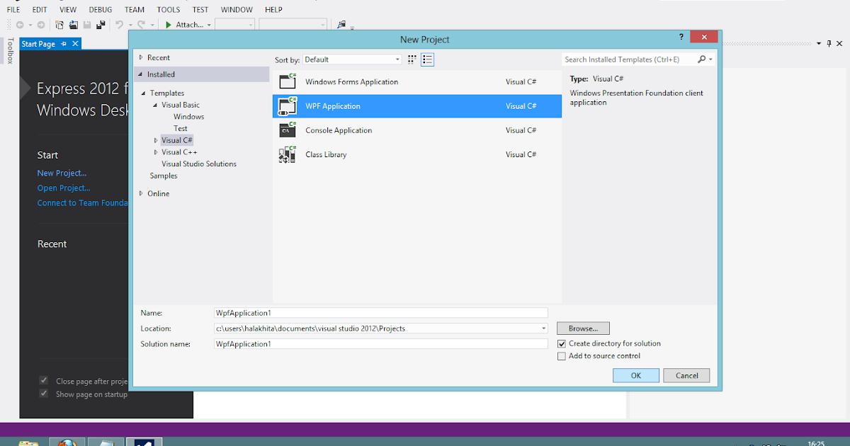 Koneksi Database Access dengan Microsoft Visual Studio
