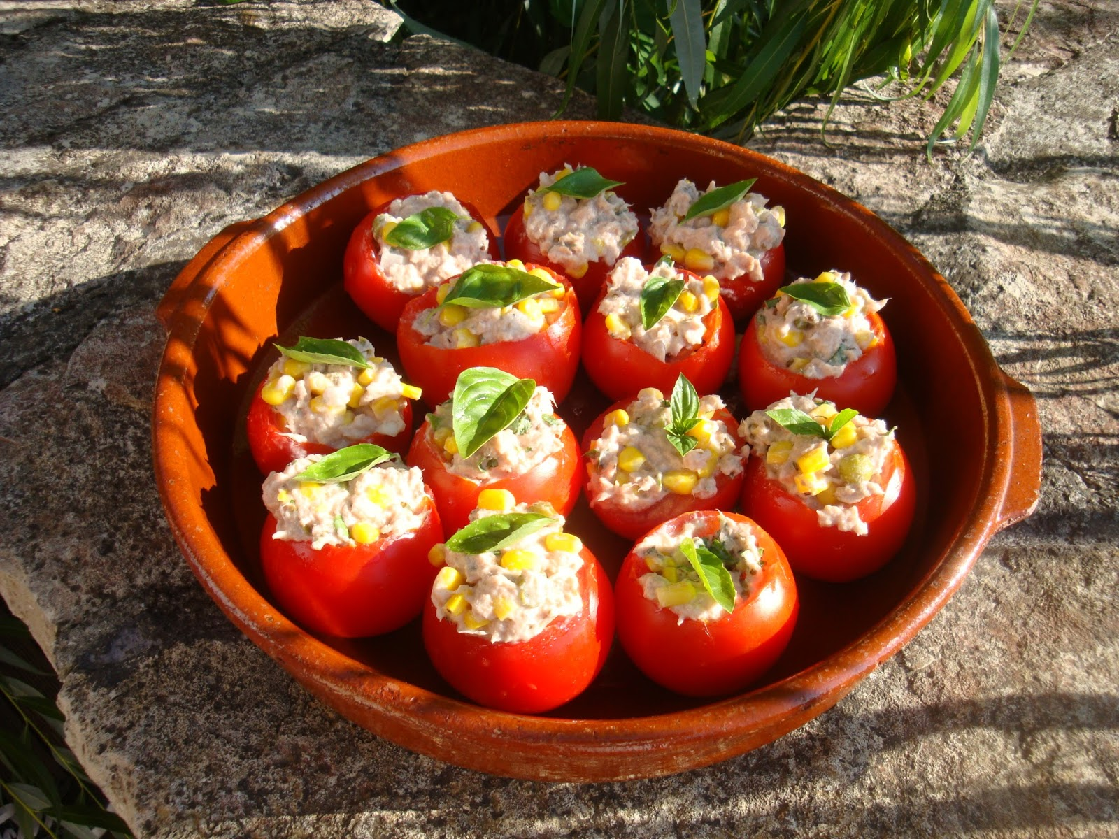 Tomates Farcies Sans Cuisson
