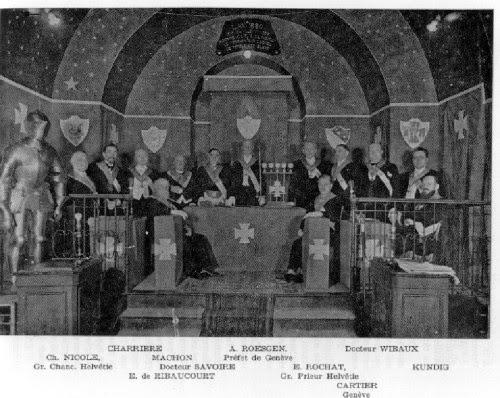 80º Aniversario del « Despertar » del Régimen Escocés Rectificado en Francia (1935-2015) 2