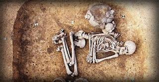 restos arqueológicos en Praga