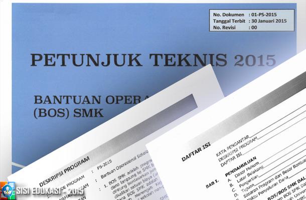 Petunjuk Teknis (Juknis) BOS SMK 2015
