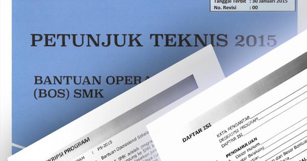 Petunjuk Teknis Juknis Bos Smk 2015 Download File Pendidikan