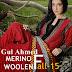 Gul Ahmed MERINO Woolen Collection Fall/Winter 2014-2015 - Pure Woolen Dress