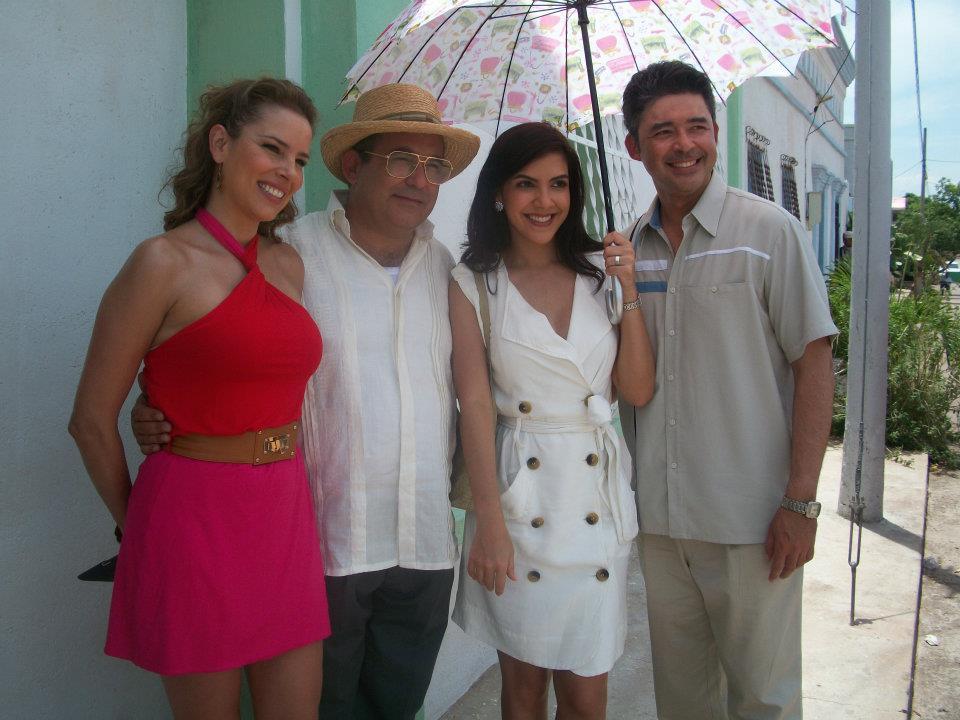 Los actores de la novela se trasladan desde Valleduapr a Villanueva ...