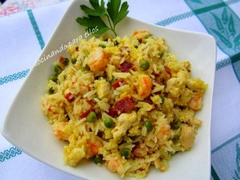 Cocinando para ellos arroz tres delicias - Cocinando para ellos ...