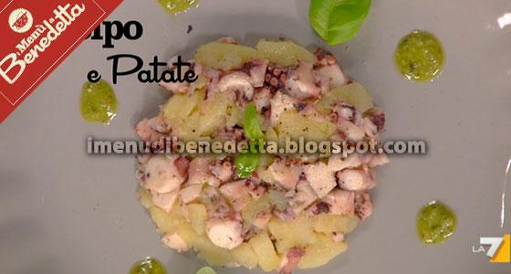 Polpo con Patate di Benedetta Parodi