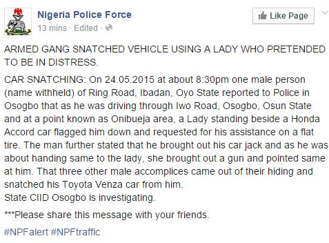 Guys, Beware Of Sexy ladies,  The New Method Of Robbery
