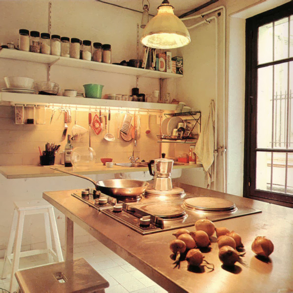 Converted Into Houses (1977): Parisian Industrial Kitchen