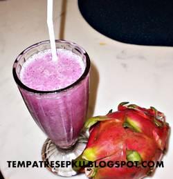 Resep jus buah naga