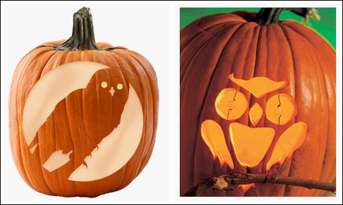 My owl barn free halloween pumpkin carving templates