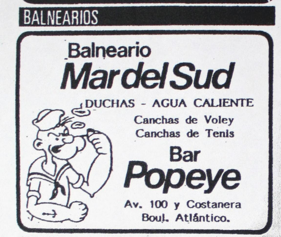Donde sopla el viento: Bar Popeye: El primero sobre la playa