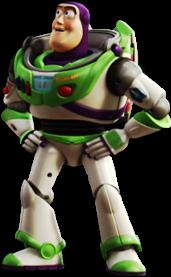 Buzz Lightyear Toy Story desenho colorido com fundo transparente