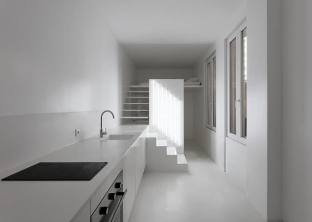 Um Apartamento Minimalista Em Paris Arquitectura De