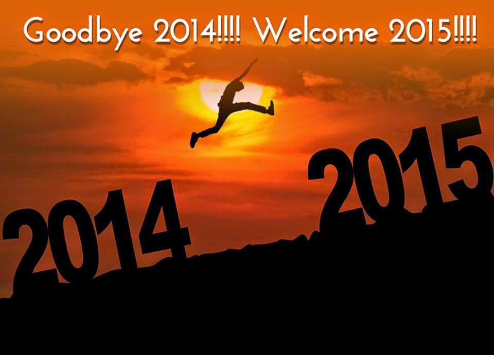 Goodbye 2014 wellcome 2015