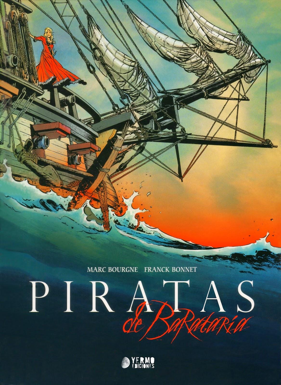 piratas de barataria comic yermo ediciones bonnet borgne