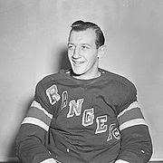 Bill Moe, #21, NY Rangers1944-49