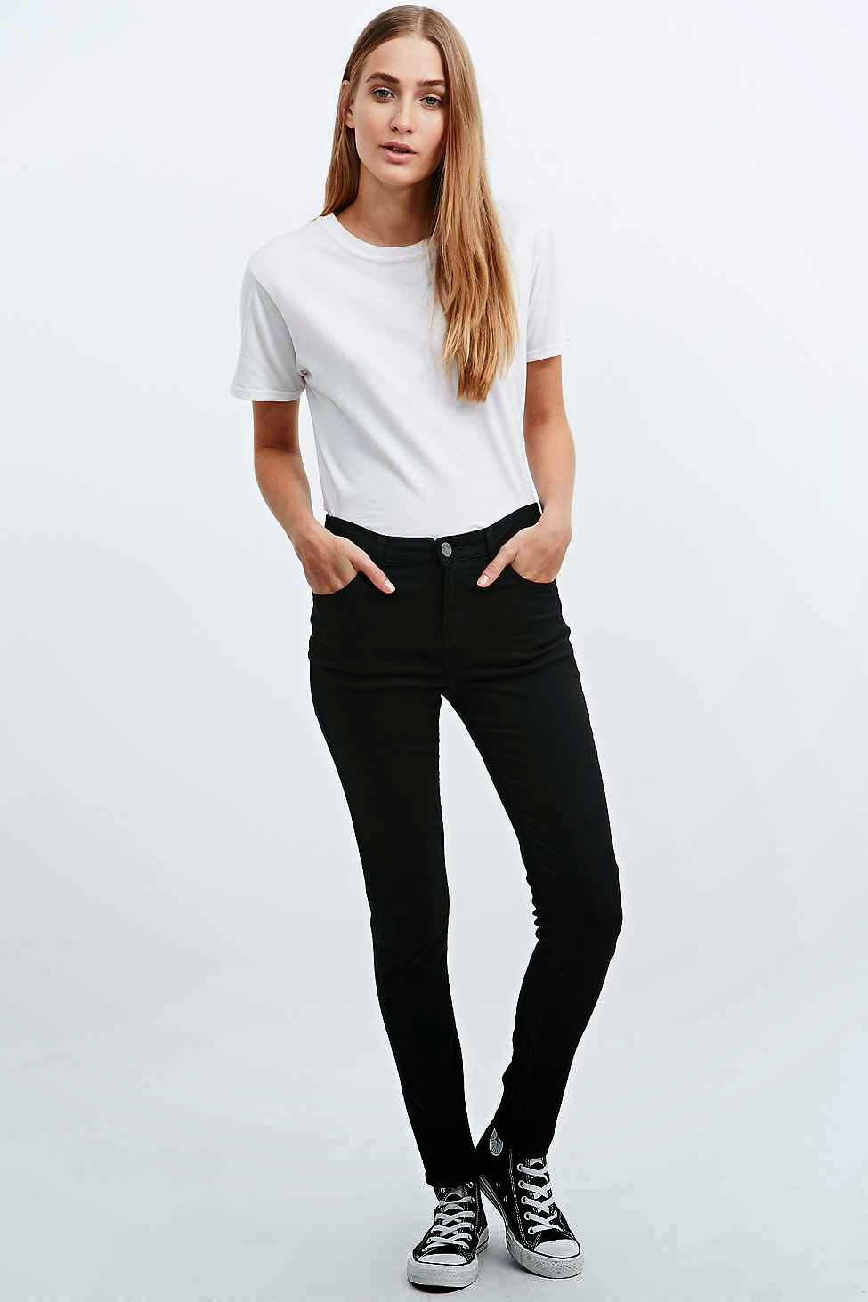 urban outfitters black jeans, BDG black skinny jeans,