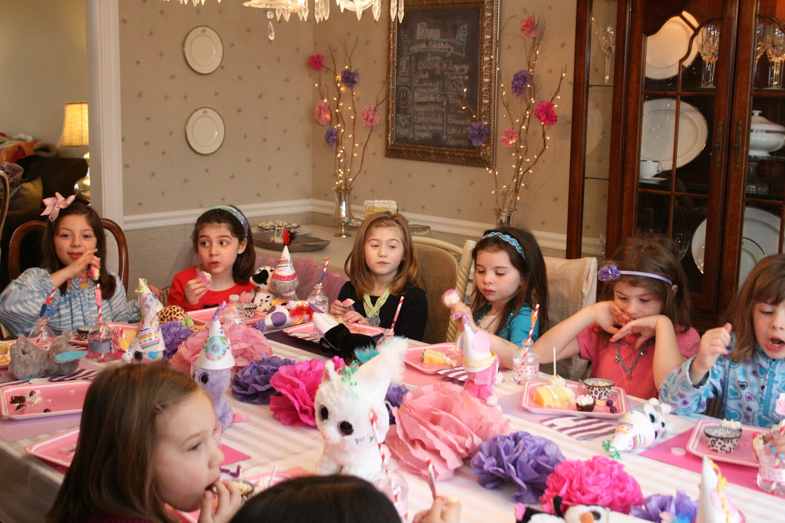 Monograms \'n Mud: Belle\'s Pink & Purple Beanie Boo Birthday
