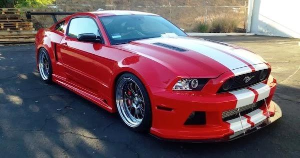 2013 2014 Mustang Widebody Kit