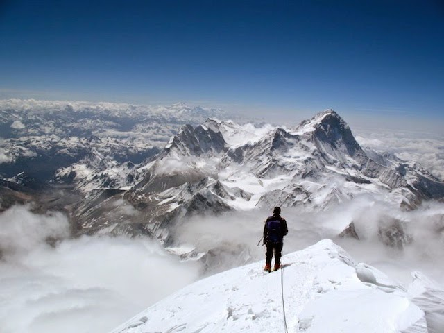 Wim Smets on the summit