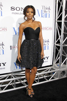Gabrielle Union Corset Dress