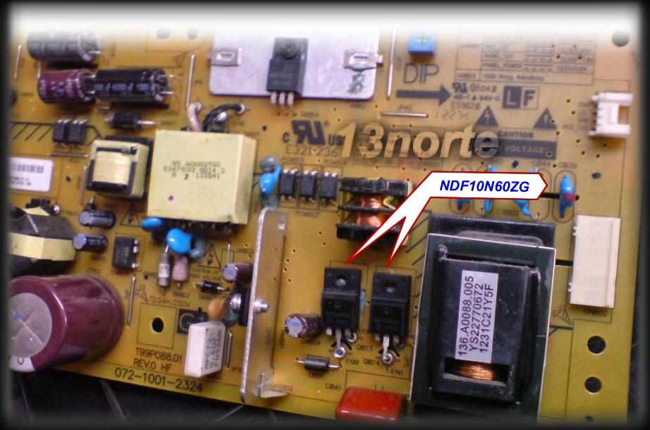 MOSFETs NDF10N60ZG