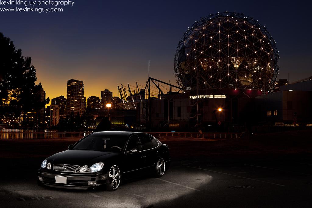 Lexus GS (S160), japoński samochód, sedan, motoryzacja, jdm, zdjęcia, fotki, photos, tuning, nocna fotografia, samochody nocą, po zmroku, auto, jakość, klasa premium, luksusowy, komfortowy, R6, V8, RWD