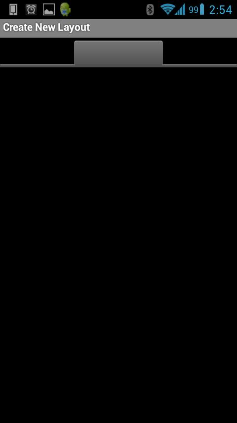 Microcontroller BT - Tela inicial