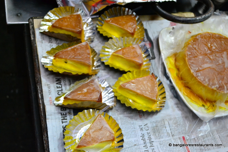 Bangalore restaurants food and travel bangalore street food right next to the kadai the karamel is lined up a slightly different version of the caramel custard with thicker setting than your average dessert forumfinder Choice Image