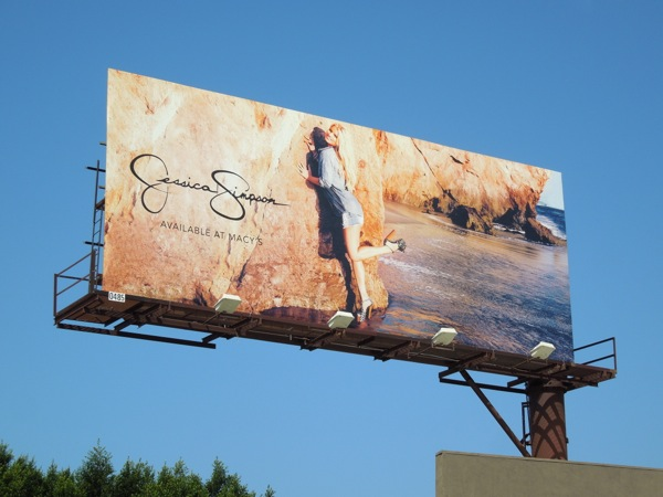 Jessica Simpson Summer 2013 billboard