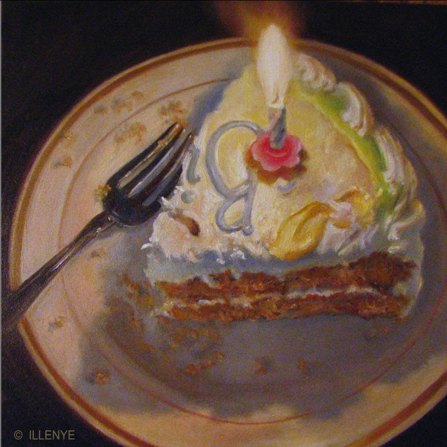 Cake Sculpture Artist : JEANNE ILLENYE - Still Lifes: Happy Birthday to ME ...