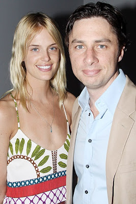 Zach Braff Girlfriend