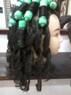 kursus mengerinting rambut
