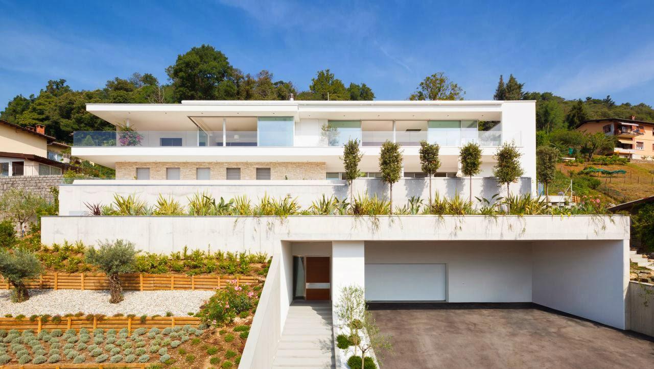 Amazing House Lombardo in Switzerland - Luxury Interior Home Design