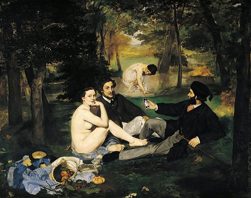 Эдуард Мане Завтрак на траве (1863)