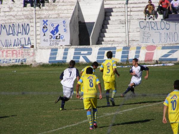 ... , General Paz Juniors 1, 9 de Julio Morteros 0 - ARGENTINO B - Zona 2