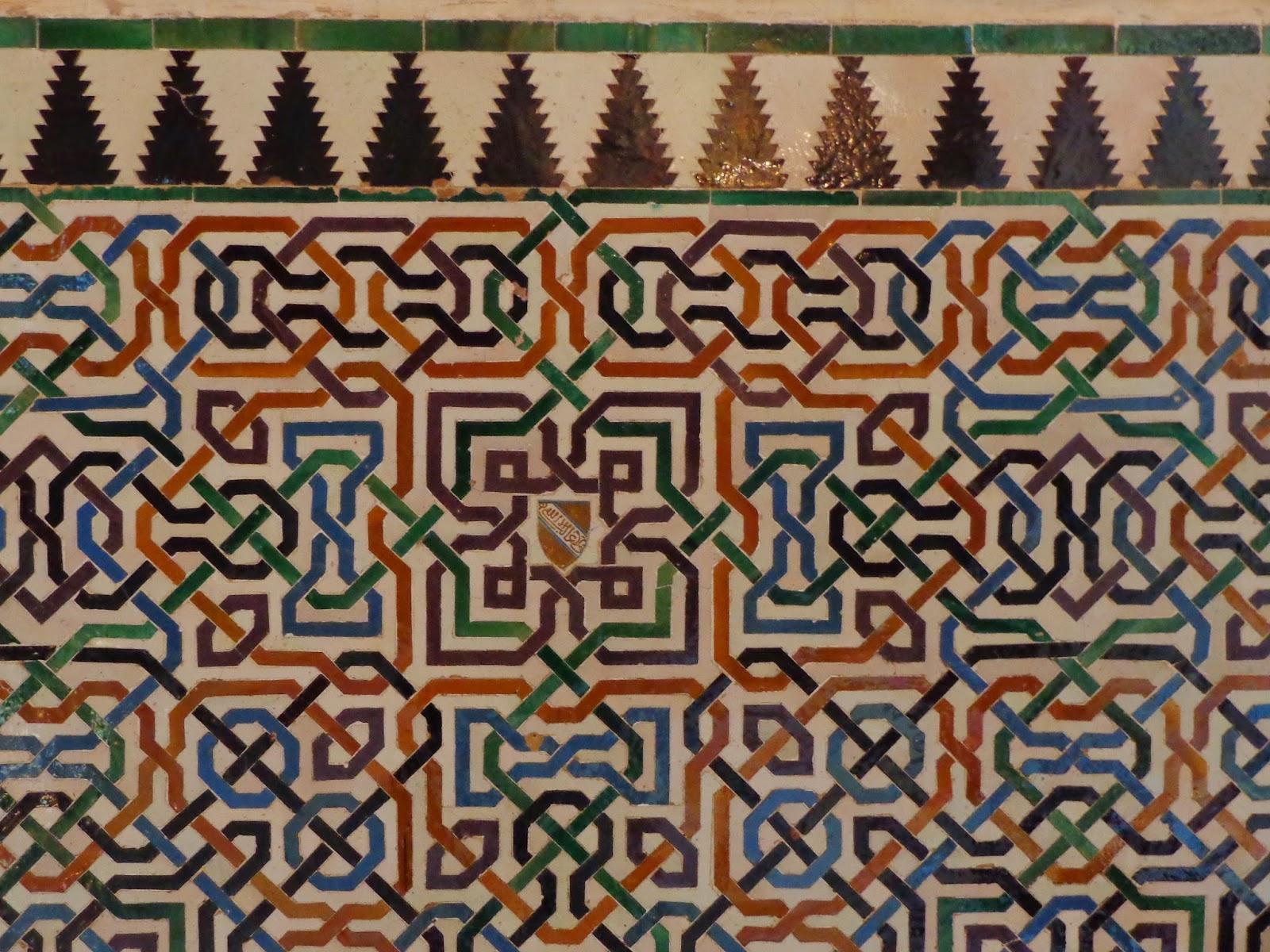 Sala de las dos hermanas for Patio de los azulejos
